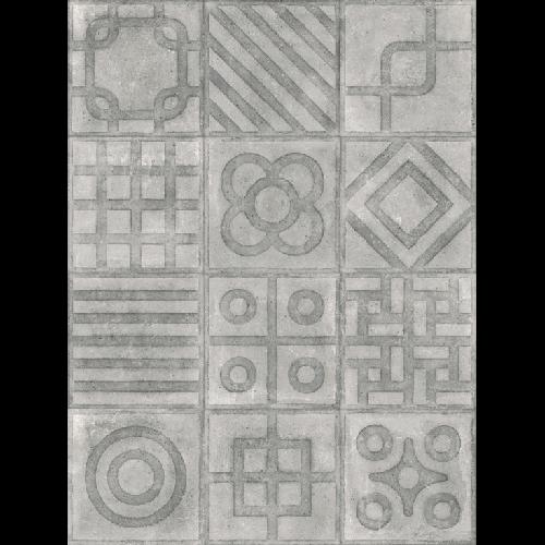 Carrelage imitation ciment 20x20 cm Paulista Cemento anti-dérapant R13 - 1m² - zoom