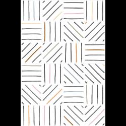 Carrelage géométrique TIEBEL décoré 20x20 - 1m²