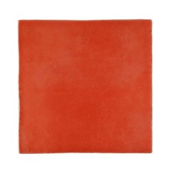 Faience rustique brillante ROUGE ORANGÉ CARMESI ARANJUEZ 20x20 cm - 1m² Vives Azulejos y Gres