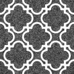 Carrelage rectifié style ciment noir et blanc 20x20 cm BULNES-R GRAFITO - 1m²