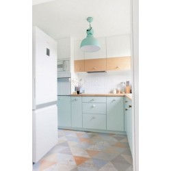 Carrelage imitation parquet rectifié Caria-R Blanco 21,8x89,3 cm - 1.36m² Vives Azulejos y Gres