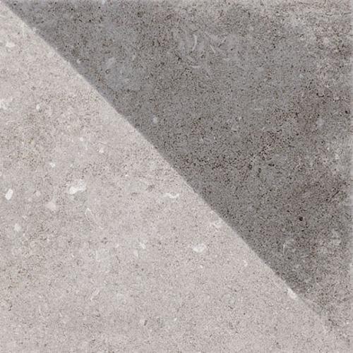 Carrelage style ancien Triangulaire 20x20 cm Tirol Gris Mix - 1m² Vives Azulejos y Gres