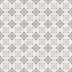 Carrelage motif ancien 20x20 cm Pukao Blanco - 1m² Vives Azulejos y Gres
