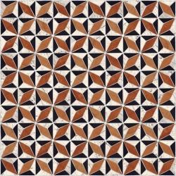 Carrelage imitation ciment géométrique 43x43 - Medix-Pr multicolor - 0.95m² Vives Azulejos y Gres