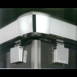Parois de douche frontal 1 panneau coulissant + 1 fixe - VT210 ASDC