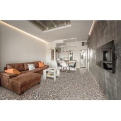 Carreau terrazzo véritable pleine masse 40x40 cm ref PP09 -   - Echantillon Carreaux ciment véritables