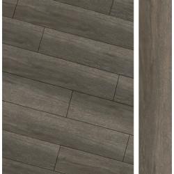 Carrelage imitation parquet rectifié Maryland Nogal R10 20x114 cm -   - Echantillon Baldocer