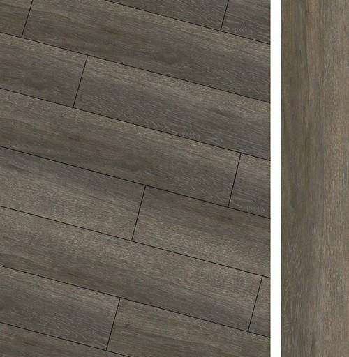 Carrelage imitation parquet rectifié Maryland Nogal R10 20x114 cm -   - Echantillon - zoom
