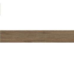 Carrelage fin rectifié style parquet CARPATOS B-THIN NOGAL R10 20x120 cm ep.6mm -   - Echantillon Baldocer