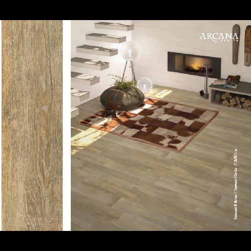 Carrelage imitation parquet Treewood Naturel 2 x89.3 cm -   - Echantillon Arcana