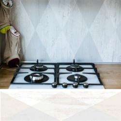 Carrelage imitation parquet rectifié Dion-R Blanco 2 x89 - Echantillon Vives Azulejos y Gres