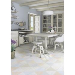Carrelage imitation parquet rectifié Caria-R Blanco 21,8x89,3 cm -   - Echantillon Vives Azulejos y Gres
