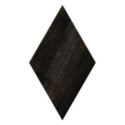 Carrelage losange imitation bois rect. 22x38cm ADAMANT OKINAWA CARBON -   - Echantillon Vives Azulejos y Gres