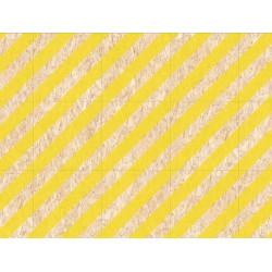 Carrelage imitation bois aggloméré NENETS jaune 59.3X59.3 cm -   - Echantillon Vives Azulejos y Gres