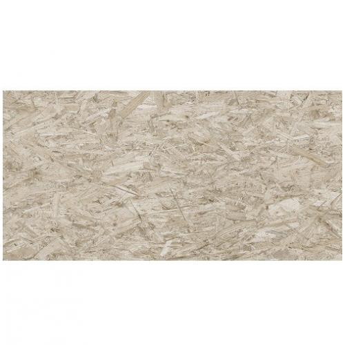 Carrelage rectifié imitation OSB bois aggloméré STRAND-R Cemento 59.3X119.3 cm -  - Echantillon Vives Azulejos y Gres