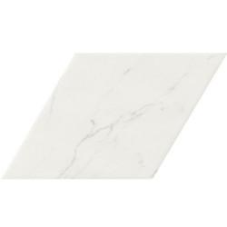 Carrelage losange blanc marbré calacatta 70x40 DIAMOND STATUARIO -   - Echantillon Realonda