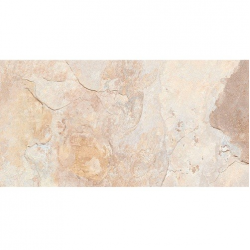 Carrelage effet pierre beige nuancé ARDESIA ALMOND 32x62.5 cm -   - Echantillon GayaFores