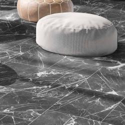 Carrelage marbré multiformat 4 carreaux - DARK MARMOL -   - Echantillon Realonda