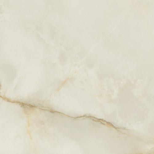 Carrelage marbré rectifié poli 60x60 cm QUIOS CREAM PULIDO -   - Echantillon - zoom