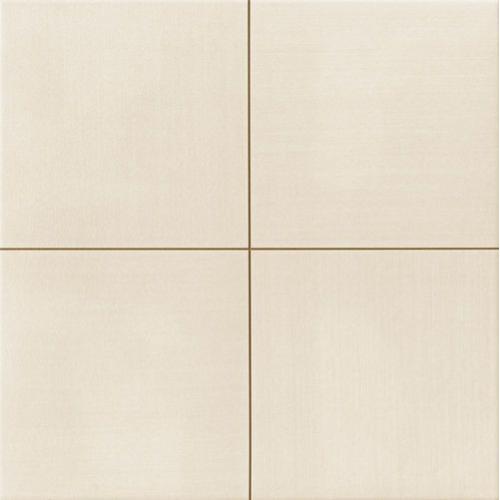 Carrelage uni blanc cassé beige MOON White 44x44 cm -   - Echantillon Realonda