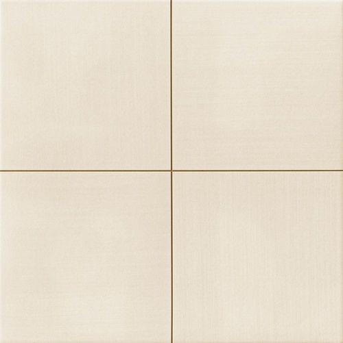 Carrelage uni blanc cassé beige MOON White 44x44 cm -   - Echantillon - zoom
