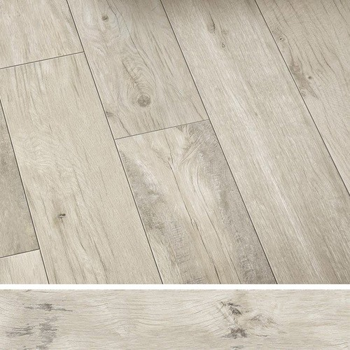 Carreau antidérapant effet bois 20x120cm WOODMANIA GRIP Ivory -   - Echantillon - zoom