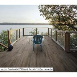 Carreau antidérapant effet bois 20x120cm WOODMANIA GRIP Musk -   - Echantillon Ragno