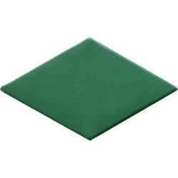 Carrelage losange mousse 15x8,5cm ROMBO10 VERT -   - Echantillon Natucer