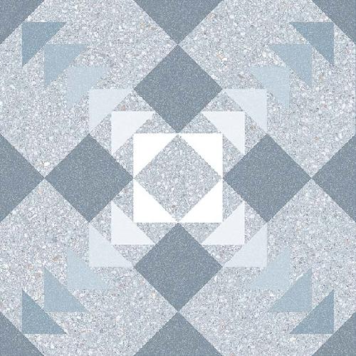 Carrelage style Pop/Seventies inspiration Art Déco 20x20 cm BENACO NUBE   - Echantillon Vives Azulejos y Gres