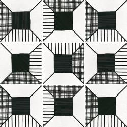 Carrelage imitation ciment 20x20 cm CAPRICE DECO BLOCK B&W 22122-   - Echantillon Equipe