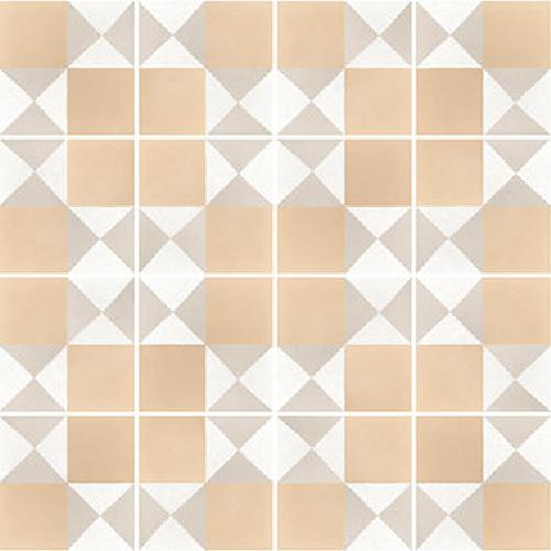 Carrelage imitation ciment 20x20 cm CAPRICE DECO CHESS PASTEL - 22106 -   - Echantillon - zoom