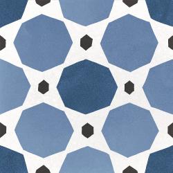 Carrelage imitation ciment 20x20 cm CAPRICE DECO SAPPHIRE COLOURS 22118 -   - Echantillon Equipe