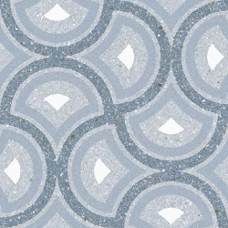 Carrelage style Pop/Seventies inspiration Art Déco 20x20 cm Pigneto Nube-   - Echantillon Vives Azulejos y Gres