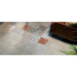 Carreau provençal 45x45 RIGA CONCRETE -    - Echantillon Realonda