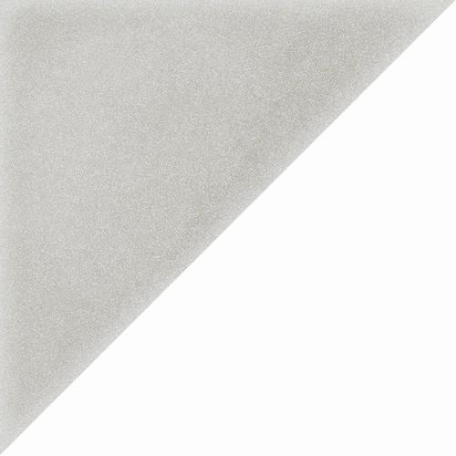 Carrelage scandinave triangulaire gris 20x20 cm SCANDY Humo -   - Echantillon - zoom