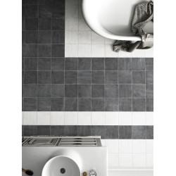 Carrelage imitation ciment noir 20x20cm URBAN DARK 23527 -   - Echantillon Equipe