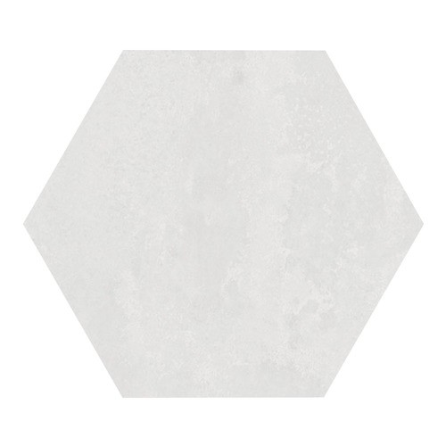 Carrelage hexagonal blanc 29.2x25.4cm URBAN HEXAGON LIGHT 23511 -   - Echantillon - zoom