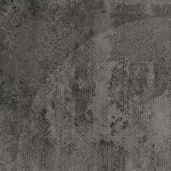Carrelage imitation ciment décor noir 20x20cm URBAN ARCO DARK 23588 -   - Echantillon Equipe