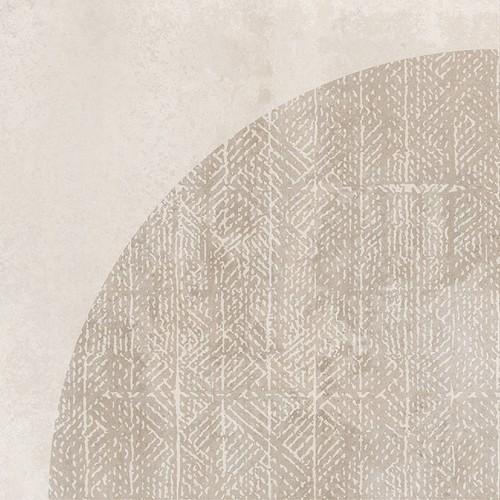 Carrelage imitation ciment décor beige 20x20cm URBAN ARCO NATURAL 23585 -   - Echantillon - zoom