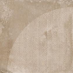 Carrelage imitation ciment décor beige marron 20x20cm URBAN ARCO NUT 23586 -   - Echantillon Equipe
