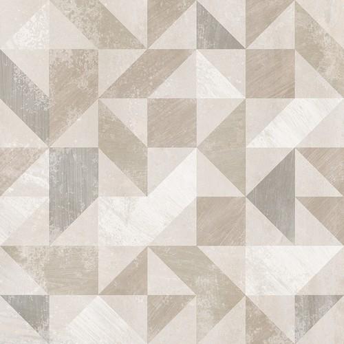 Carrelage imitation ciment décor beige 20x20cm URBAN FOREST NATURAL 23614 -   - Echantillon - zoom