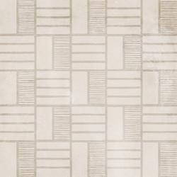 Carrelage imitation ciment décor beige 20x20cm URBAN HANDMADE NATURAL 23593 -   - Echantillon Equipe