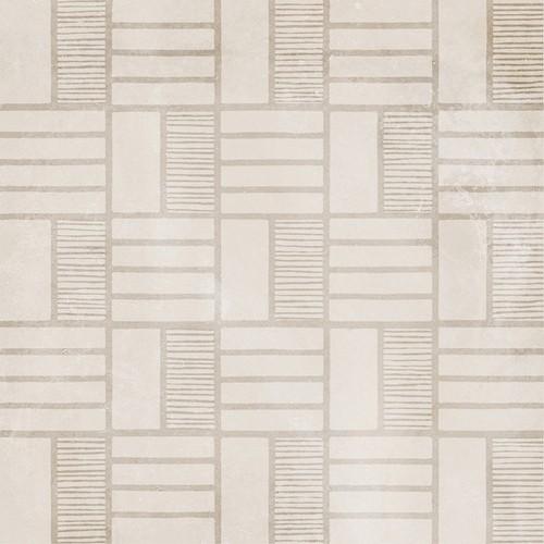 Carrelage imitation ciment décor beige 20x20cm URBAN HANDMADE NATURAL 23593 -   - Echantillon - zoom