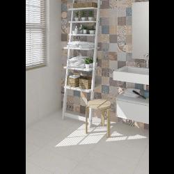 Carrelage imitation ciment léger style bohême SYRNA 30x60 - - Echantillon Vives Azulejos y Gres