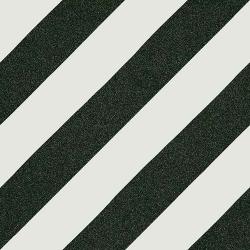 Carreau style ciment rayure noire 20x20 cm GOROKA -   - Echantillon Vives Azulejos y Gres