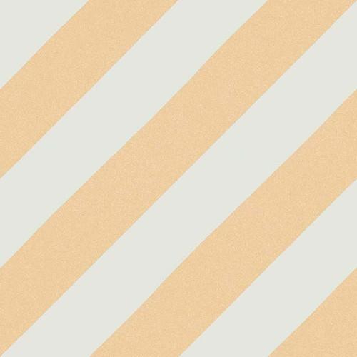 Carreau style ciment rayure ocre 20x20 cm GOROKA -   - Echantillon - zoom
