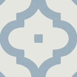 Carrelage scandinave bleu 20x20 cm LADAKHI Cielo -   - Echantillon Vives Azulejos y Gres