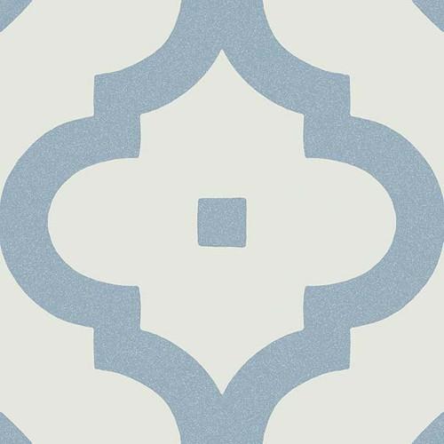 Carrelage scandinave bleu 20x20 cm LADAKHI Cielo -   - Echantillon - zoom