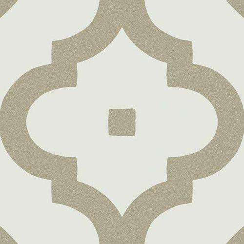 Carrelage scandinave beige foncé 20x20 cm LADAKHI Musgo -   - Echantillon - zoom