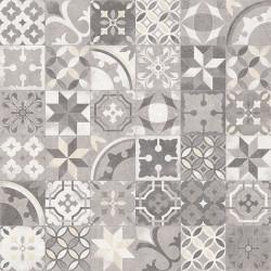 Carrelage en patchwork motif ancien 20x20 cm Berkane Multicolor -   - Echantillon Vives Azulejos y Gres